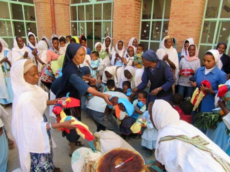 VMY Eritrea Doing What it Does Best: Serving the Poor